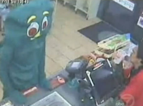 Gumby robbery