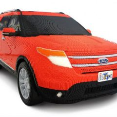 Life-Size LEGO SUV [Photos]