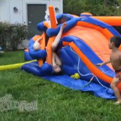 Why Adults Shouldn't Play On Inflatable Slides [Video]