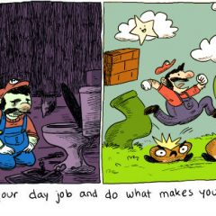 The Real Lesson Of Super Mario Bros. [Photo]