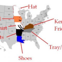 Kentucky Fried Chicken Map