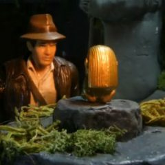 Raiders Of The Lost Ark Opening In Stop Motion [Video]