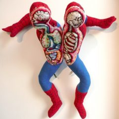 Spiderman Doll You Can Pull In Half [Photo]