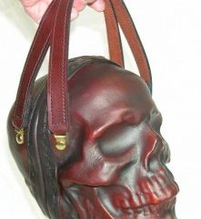 The Skull Leather Purse [Photo]