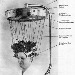How Women Get Their Perm Circa 1934 [Photo]