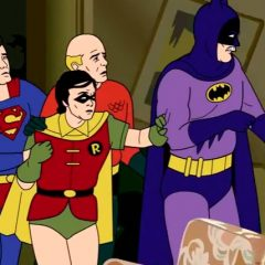 What Happens When The Super Friends Become Characters in Golden Girls [Video]