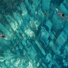 Freaky Swimming Pool [Photo]
