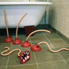 Toilet Plunger Monster Metamorphosis [Photo]