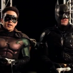 Batman and Robin Play Halo [Video]