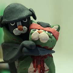 The Raid In Claymation Using Cats [Video]