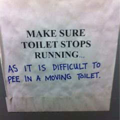 Toilet Graffiti Humor [Photo]