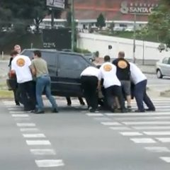 Crosswalks And Errant Motorists [Video]