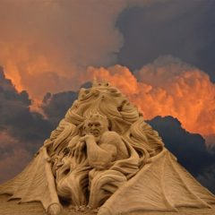 As A Sandy Janus Looks In Anger [Photo]