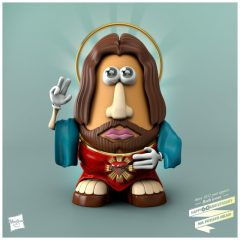 Mr. Potato Head As Jesus [Photo]