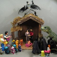A Wacky Nativity Scene [Photo]