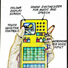 The Pocket Computer Of The Future Circa 1980 [Photo]