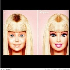Barbie's Roots Are Showing. [Photo]