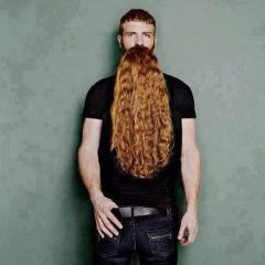 A Man And His Beard [Photo]