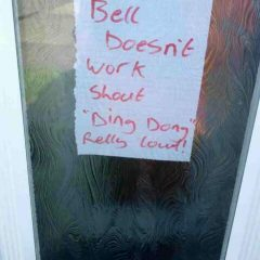 Alternative To Doorbell. [Photo]