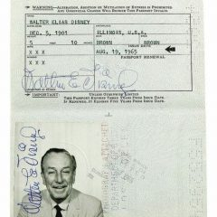 Dead Celebrity's Passport [Photo]