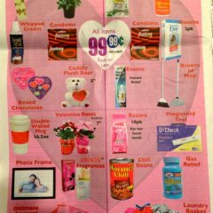 Post-Valentine Choices at 99 Cent Store [Photo]