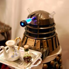 Teatime With A Dalek. [Photo]