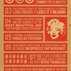 Beliefs Andy Warhol Live By [Photo]