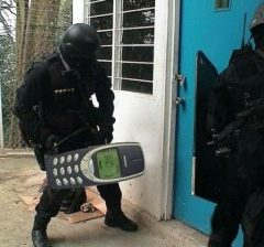 Sturdiness Is In The Cellphone Model. [Photo]
