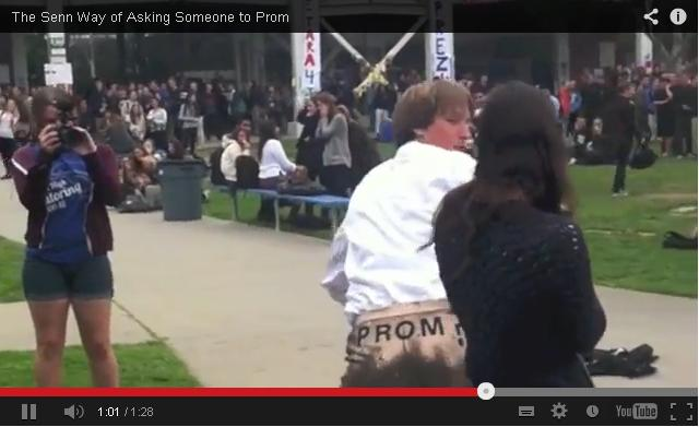 How To Ask A Girl To A Prom [Video]