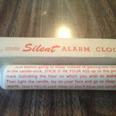 Silent (But Deadly) Alarm Clock [Photo]