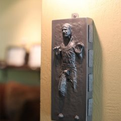 Here's The Hand Solo Carbonite Light Switch. [Photo]
