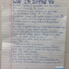 Why You Got Dumped. [Photo]