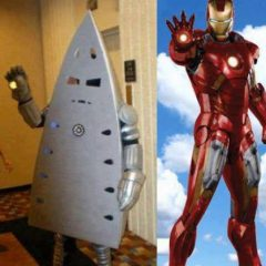 The Real Iron Man. [Photo]