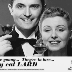 Pushing Lard. [Photo]