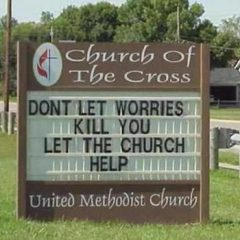 The Church At Your Time Of  Need. [Photo]