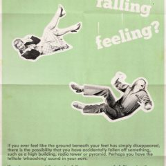 A Poster for Falling Down Syndrome. [Photo]