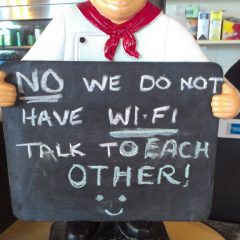 No Wi-Fi? [Photo]