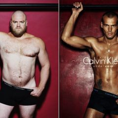 Real Men In Underwear Ads. [Photo]