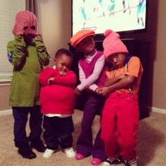 Fat Albert And His Posse Just In Time For Halloween! [Photo]