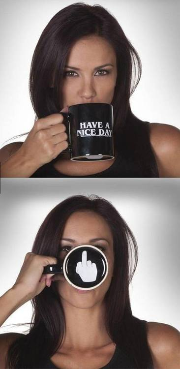 Have a nice day coffee cup