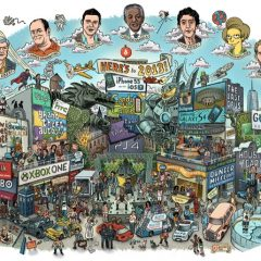 2013 in One Illustration