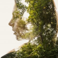 Double and Triple Exposure Forest People
