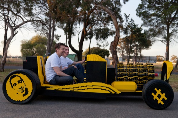 Here's a Full-Sized Working Car Made of LEGOs