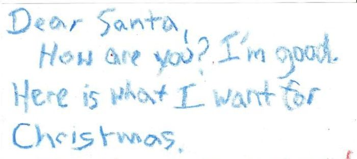 Awesome Letter to Santa