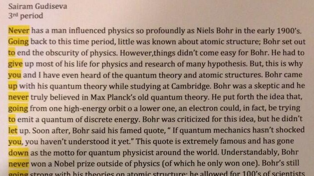 The Rickroll Quantum Physics Essay