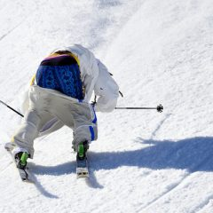 Swedish Skier Henrik Harlaut Loses Pants During Run