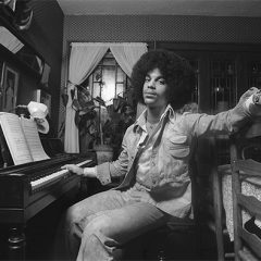 Prince at 17, Sporting a Huge Afro