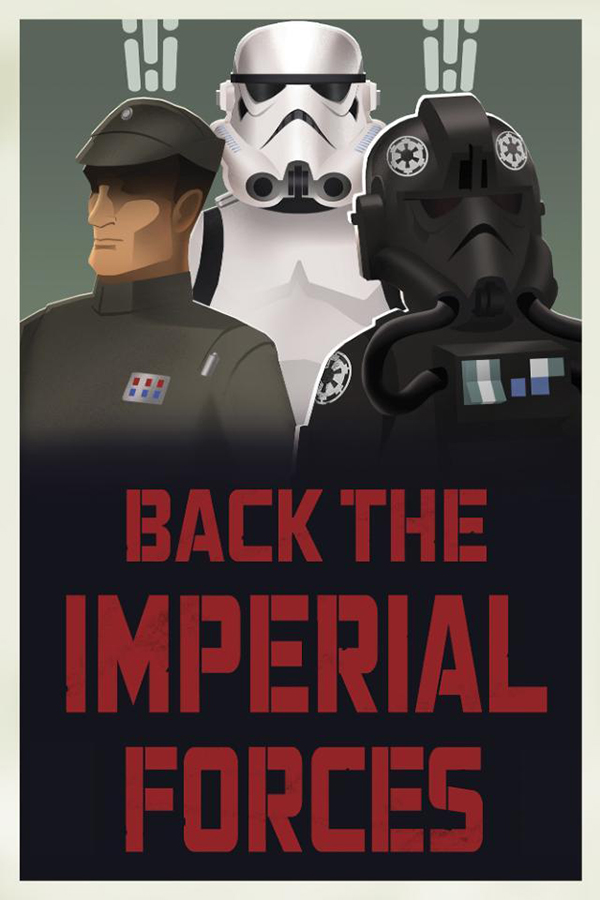 Star Wars Imperial Propaganda Posters