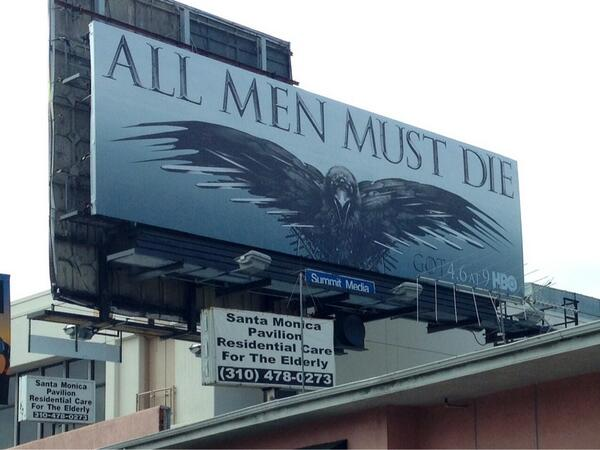 Game of Thrones ad FAIL!