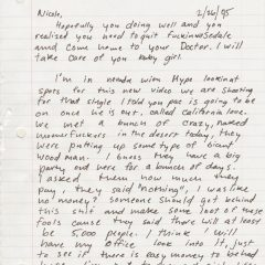 Here's a Great Letter Dr. Dre Wrote to his Woman in 1995